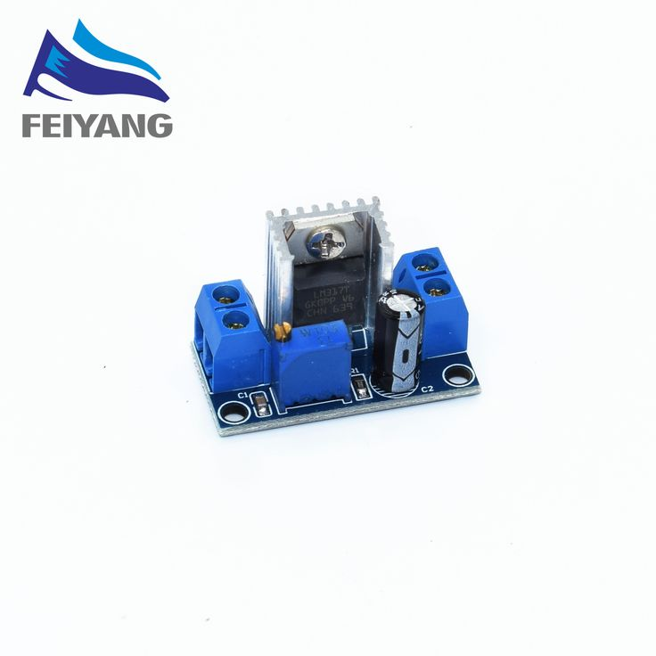 1PCS LM317 Adjustable Voltage Regulator Power Supply LM317 DC-DC Converter Buck Step Down Circuit Board Module Linear Regulator //Price: $0.63//     #Gadget