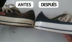 Truco Casero Para Limpiar Tus Zapatos En Sólo Minutos Y Dejarlos Como Nuevos!   Mi Mundo Verde