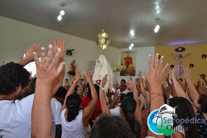 Paroquia Maria Mãe da Igreja realiza o Cerco de Jericó em Seropédica