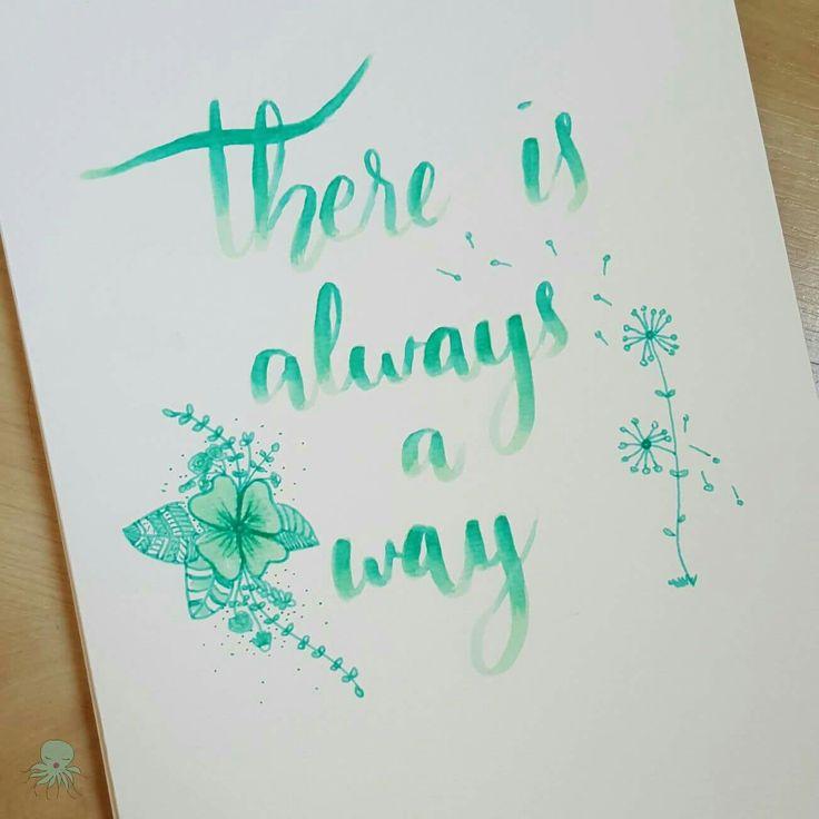 Don't give up 💪  #quotes #lettering #threefeelings #letrasbonitas #amytangerine #fangerine #silviadeleonhandmade