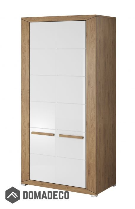 White Wardrobe Single Door Small Sliding Doors Armoire Cabinet Free Standing Black