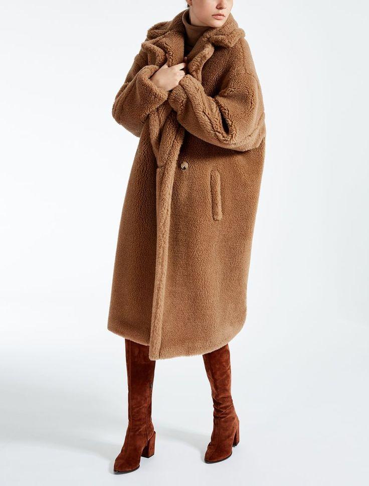Max Mara AURELIA poil de chameau: Manteau iconique Teddy Bear.