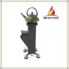Solid Fuel outdoor kooktoestel prijs china fabrikant rocket kachel voor camping