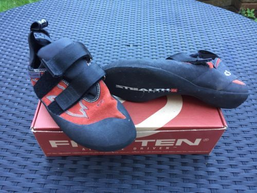 Five ten 5.10 #stonelands rock #climbing bouldering #shoes size uk 9 eur 43.0,  View more on the LINK: 	http://www.zeppy.io/product/gb/2/262677386595/