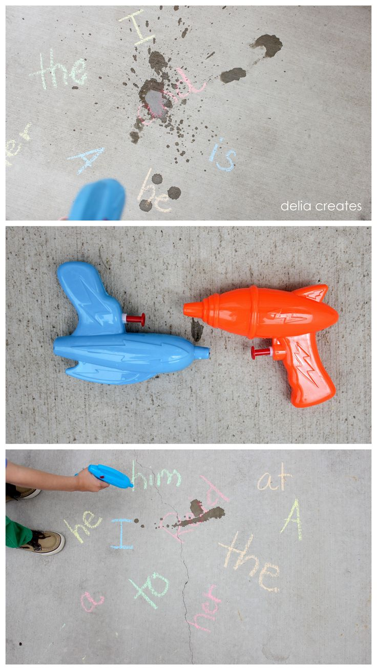 Some super fun outdoor learning games for the summer!