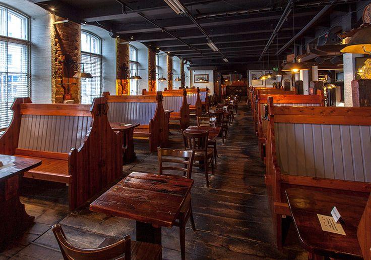 Vaikken oluiden ystävä olekaan, niin ruoka kyllä maistuu. Panimoravintola Plevna. Plevna Brewery, Tampere.