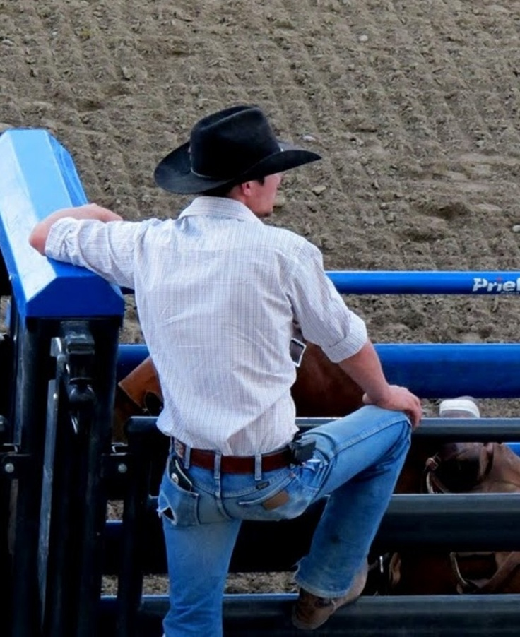Rodeo:those Wranglers have seen some action...