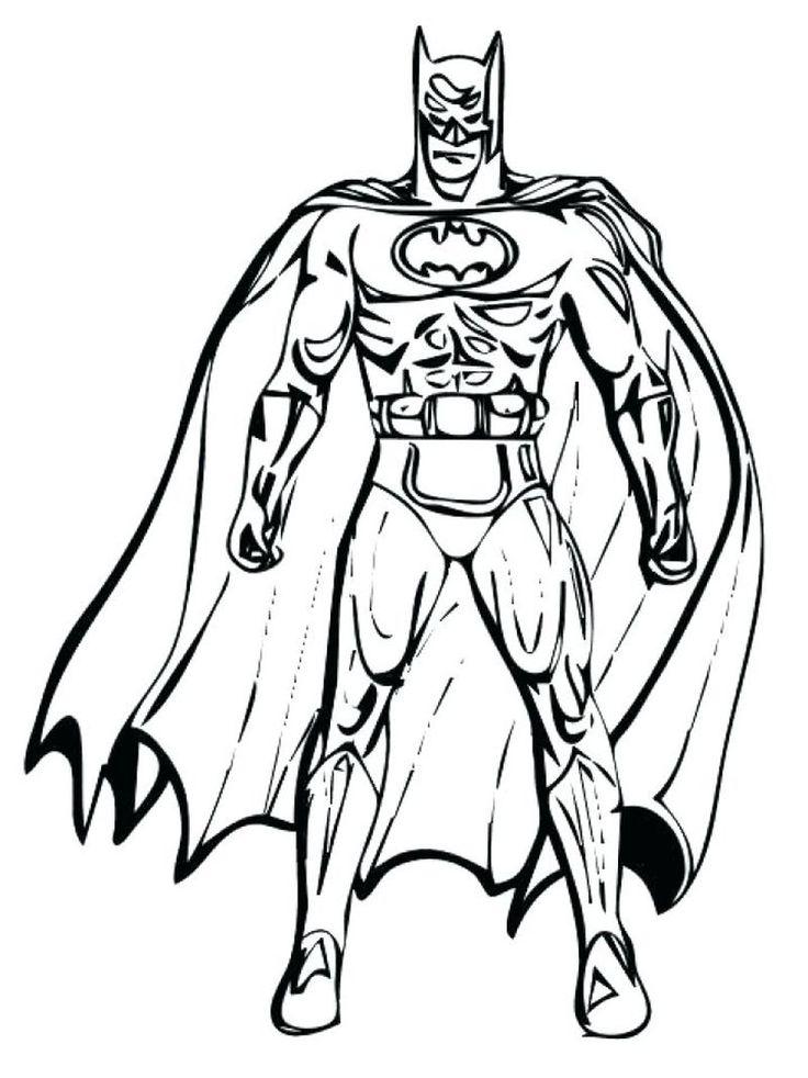 Printable Batman Coloring Pages For Kids   Drawing, Batman