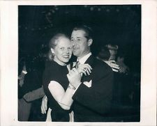 Don Ameche  with His Wife Honore
