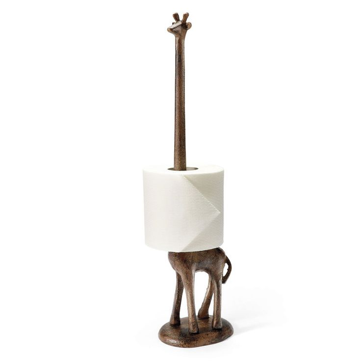 Awesome Giraffe Paper Towel / Toilet Paper Holder