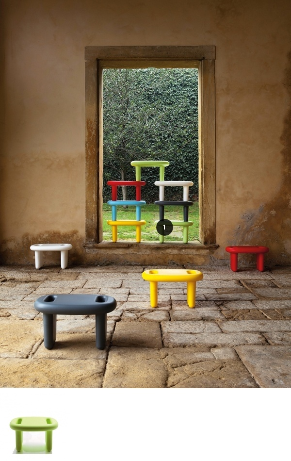A Closer Look At Snoop, A Stool In Rotomoulded Polyethylene, Reveals Its  Triple Identity