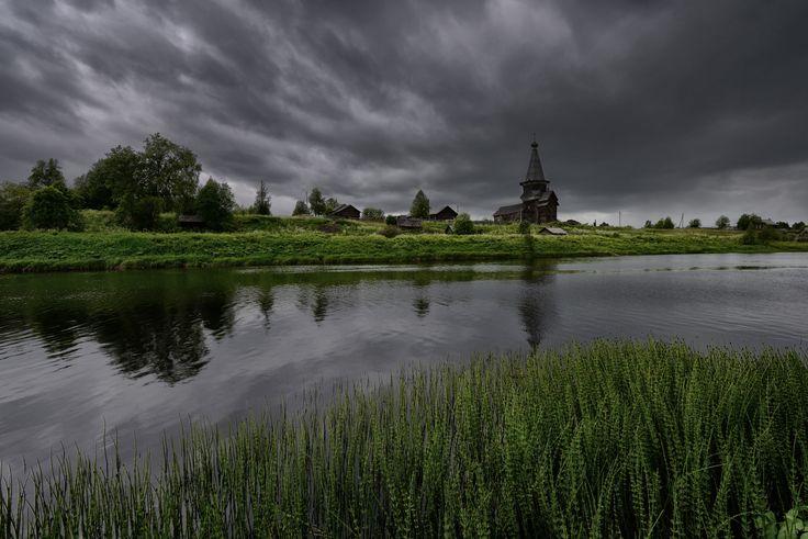 Максим Евдокимов_Saminsky churchyard, Vologda Region (Саминский погост, Вологодчина)