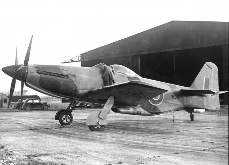Martin-Baker MB 5 was the ultimate development of a series of prototype fighter aircraft built during the Second World War. Neither the MB 5 nor its predecessors ever entered production, despite what test pilots described as excellent performance