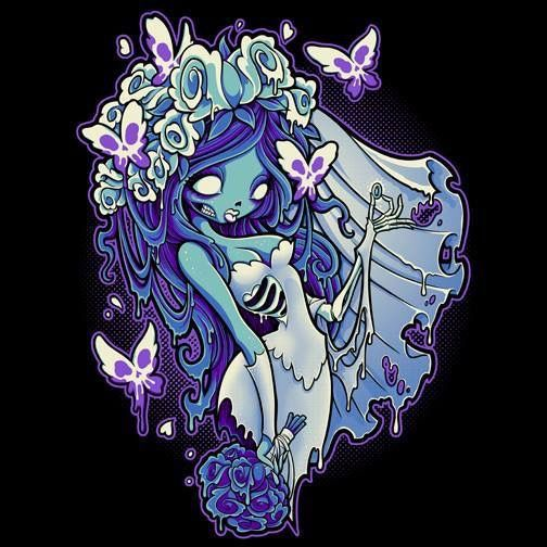 Love corpse bride. Chibi Emily, possible tattoo inspiration