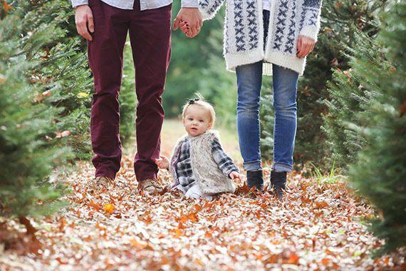 Christmas Tree farm family photos by Rut Maldonado | 100 Layer Cakelet