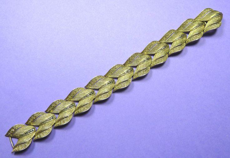 Theodor Fahrner silver gilt bracelet c1930.  Marked Fahrner Original.  Photographed by Gillian Horsup.  www.gillianhorsup - #Theodor Fahrner #Fahrner bracelet