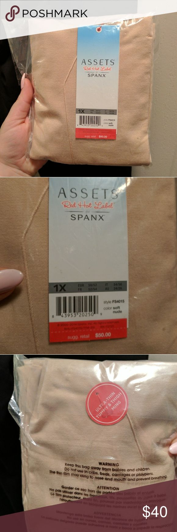 Assets by Spanx size 1X - NEW - high waist shaper Brand new in package! Size 1X  ***I ship in 3 biz days or less*** ASSETS by Sara Blakely Intimates & Sleepwear Shapewear