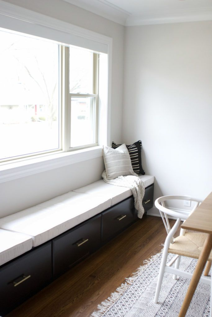 Creating An Extra Long Window Seat The Diy Playbook Storage