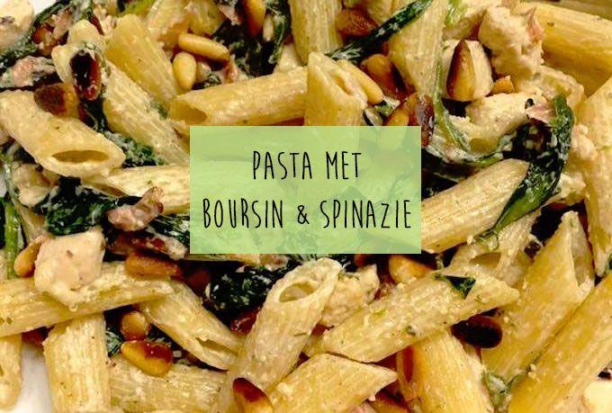 Op zoek naar een lekker, simpel en snel recept? Maak dan bijvoorbeeld dit gerecht: pasta boursin met spinazie en bacon. Eet smakelijk!