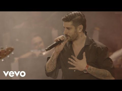 Melendi - La promesa (En Directo) - YouTube