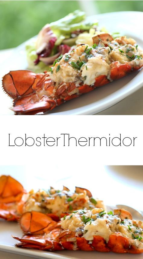 Beth S Lobster Thermidor Recipe Seafood Dinner Lobster Thermidor Seafood Appetizers