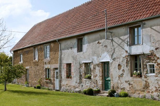 Dom Annie Sloan w Normandii