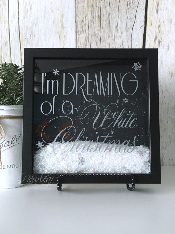 Chirstmas Decorations Christmas Shadow Box by NewLeafWoodDesigns                                                                                                                                                                                 More