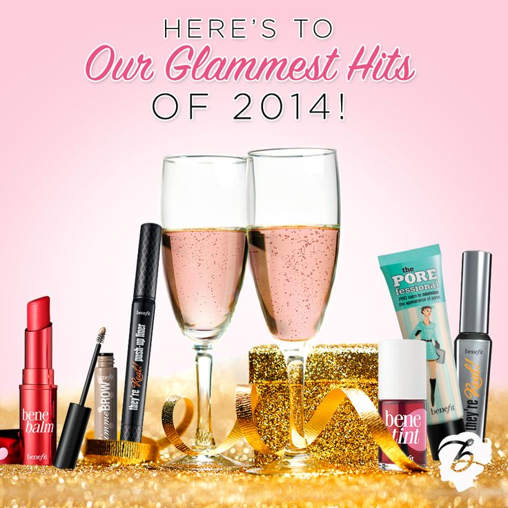 Pin your fave Benefit product of 2014 for a chance to WIN 10 full size best sellers! ENTER: http://contests.piqora.com/GlammestHits
