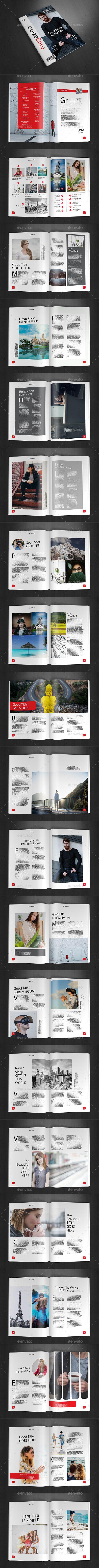 Mejores 2331 imágenes de Magazine Template & Design en Pinterest ...