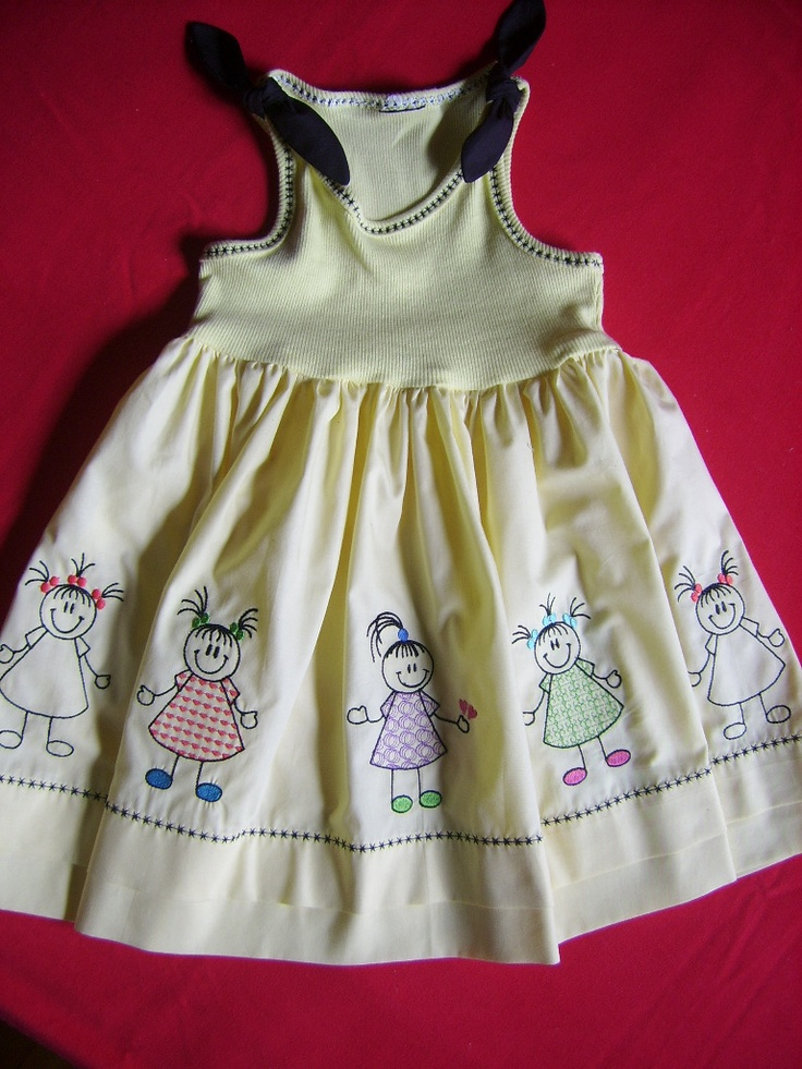 vestido menina - Jeito Mineiro Bordados
