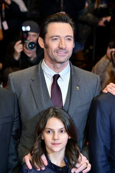 Hugh Jackman Photos Photos - Actors Hugh Jackman and Dafne Keen attend the 'Logan' premiere during the 67th Berlinale International Film Festival Berlin at Berlinale Palace on February 17, 2017 in Berlin, Germany. - 'Logan' Premiere - 67th Berlinale International Film Festival