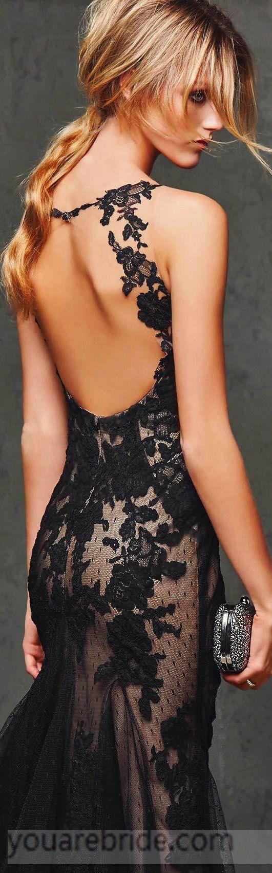 backless evening dress festliche damenmode modestil