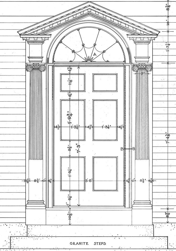 Pedimented Door Surround Curb Appeal Architecture