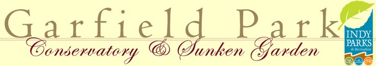 Garfield Park Conservatory and Sunken Gardens | Indianapolis, IN Winter Wonderland display in Dec