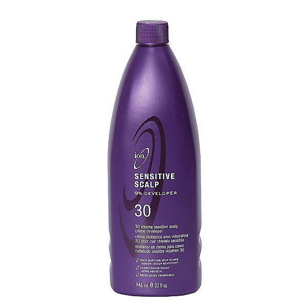 Ion Color Brilliance Sensitive Scalp 30 Volume Creme Developer works with all permanent hair colors or lighteners.