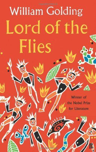 Lord of the Flies by William Golding, http://www.amazon.co.uk/dp/0571191479/ref=cm_sw_r_pi_dp_StcDtb0BJ576B