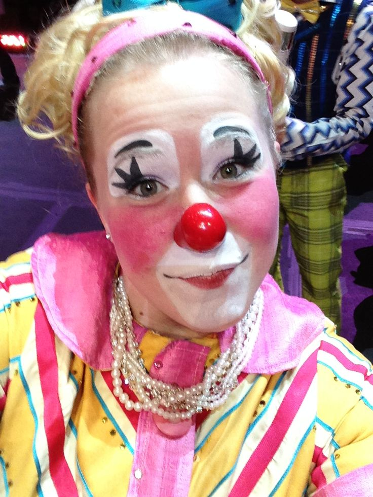1000 images about female clowns and mimes on pinterest for Face painting clowns for birthday parties