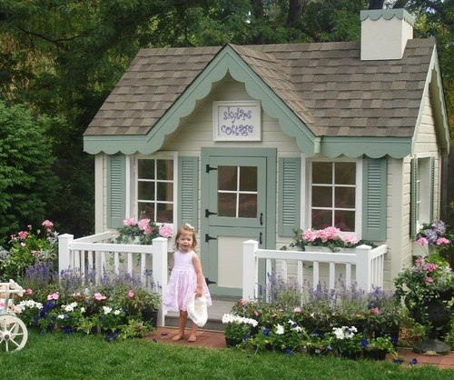 Cottage Playhouse contemporary kids toys