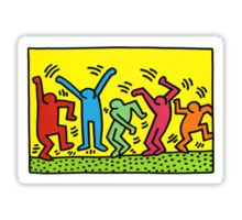 keith haring people Sticker