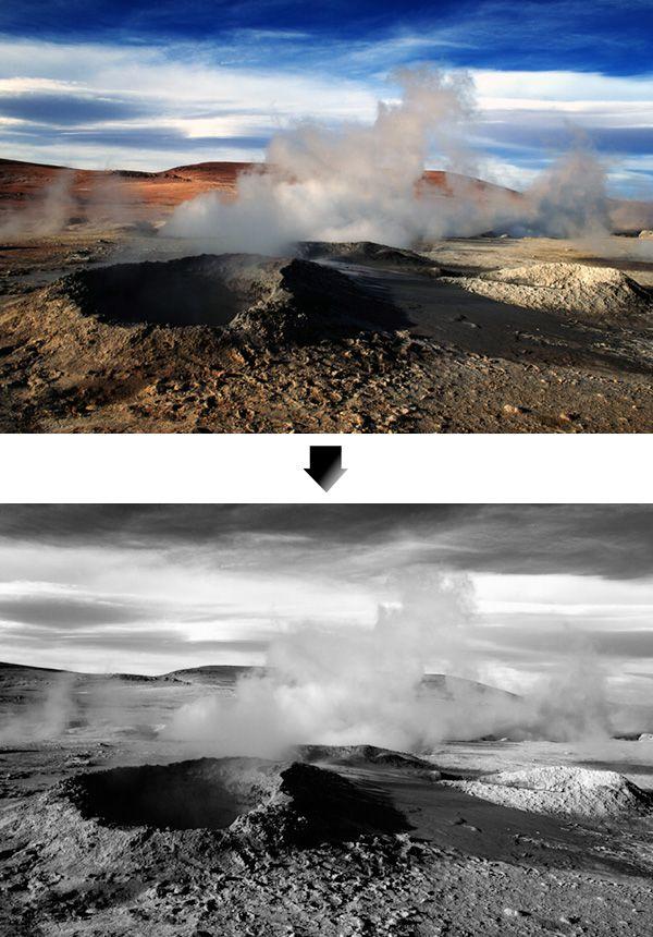 black and white conversion photoshop (7 Non-Destructive & Destructive ways)
