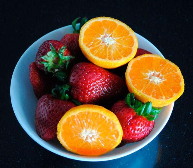 frutillas y mandrinas