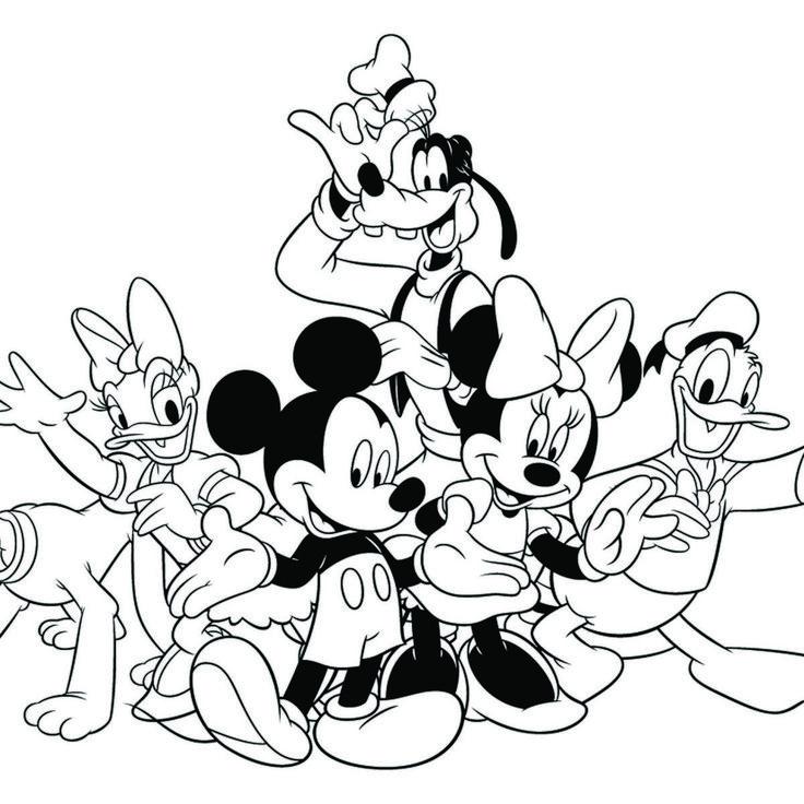 Disney Mickeys Typing Adventure Coloring Page