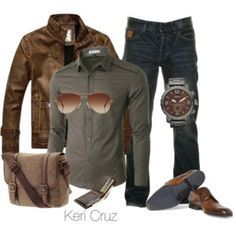 Rugged Men's Fashion