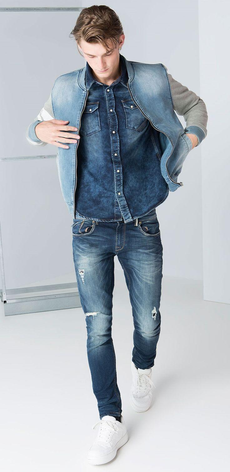 best full denim images on pinterest jeans pants blue denim