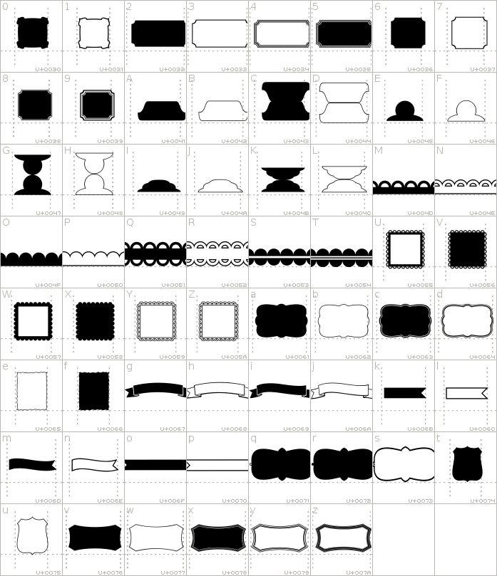 KG Flavor and Frames Five Font · 1001 Fonts