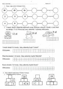 Matematyczne karty pracy | Dla Belfra