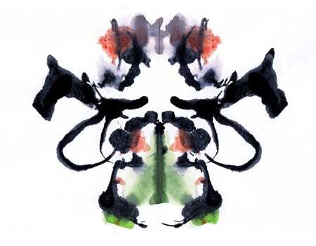 38 Best Ink Blots Images On Pinterest Rorschach Inkblot