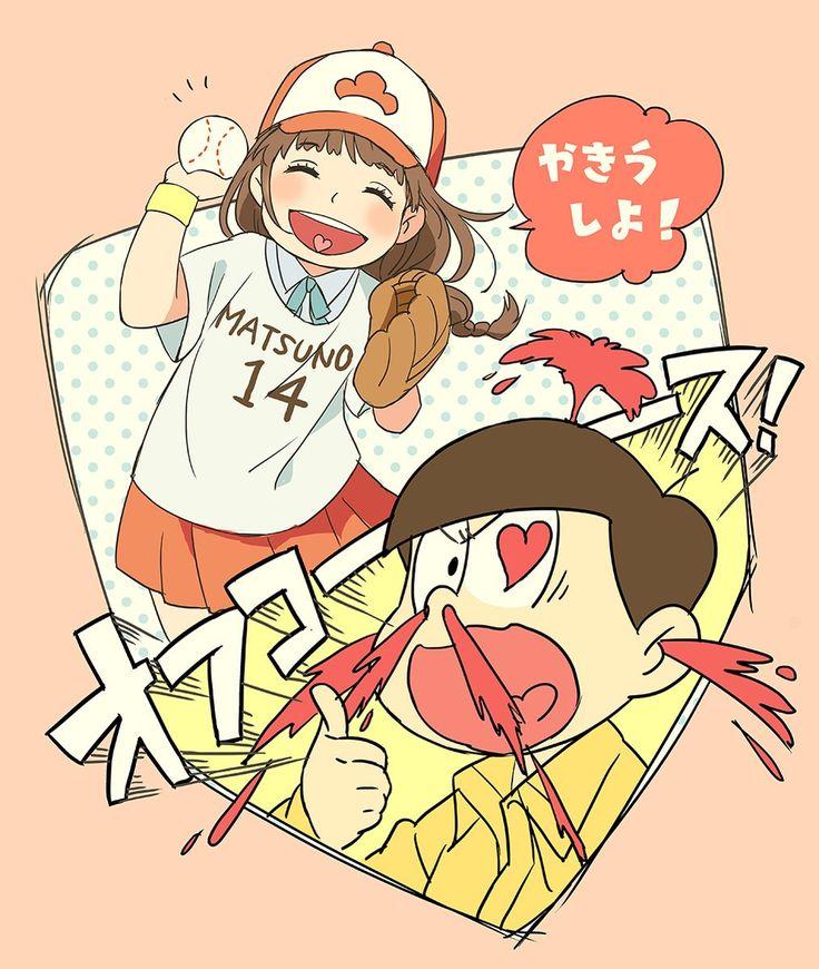 Osomatsu-san Jyushimatsu and Homura