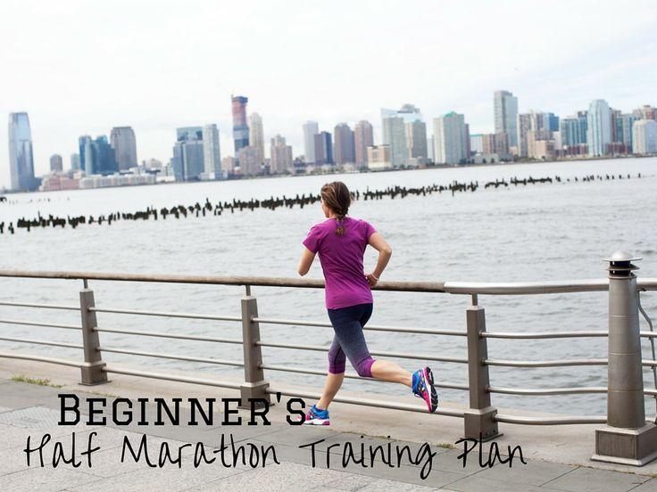 Beginner's Half marathon training plan