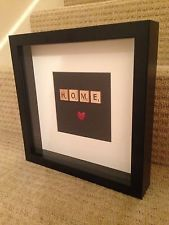 Personalised Scrabble Frames - Home, Gift
